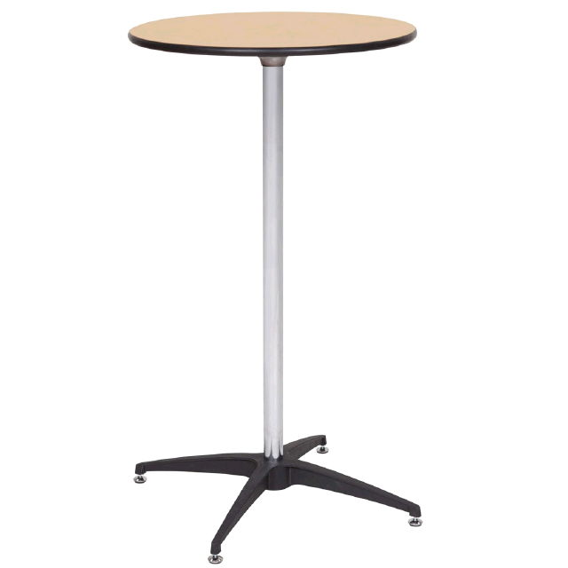 Table cocktail wood top 42 inch tall 30 inch rentals for Cocktail tables for rent quezon city
