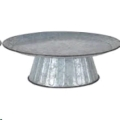 Rental store for GALVANIZED 20  CAKE STAND in Columbia MO