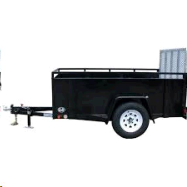 Where to find TRAILER 5X10 BLACK in Columbia