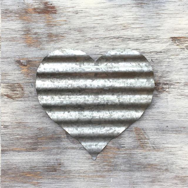 Where to find GALVANIZED HEART 6 in Columbia