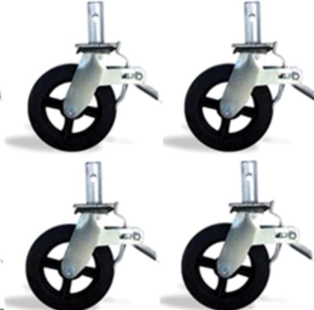 Where to find SCAFFOLD WHEELS   SET OF 4 in Columbia