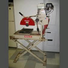 Where to find BRICK SAW 5.5 HP EDCO in Columbia