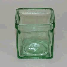 Where to find VOTIVE SQUARE LT GREEN GLASS in Columbia
