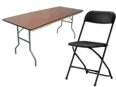 Rent Chairs & Tables