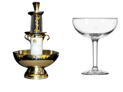 Rent Glassware & Fountains