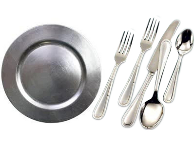 Rent Dishes & Flatware